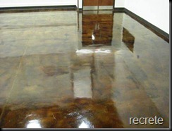 Stained Concrete Classroom