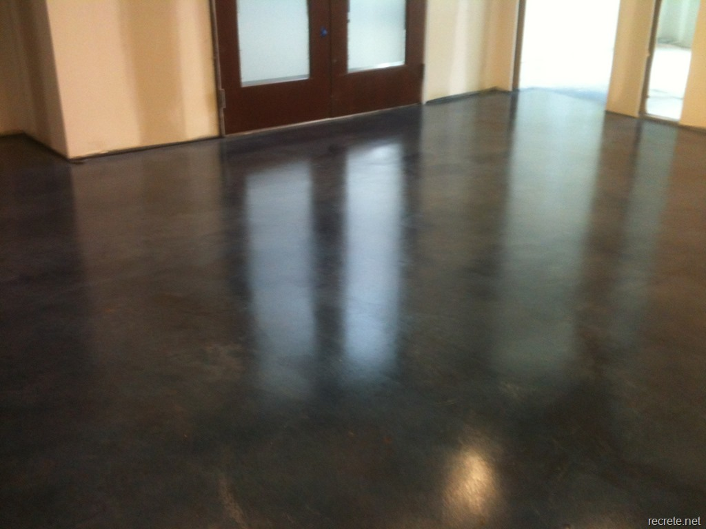 residential stained concrete floors images