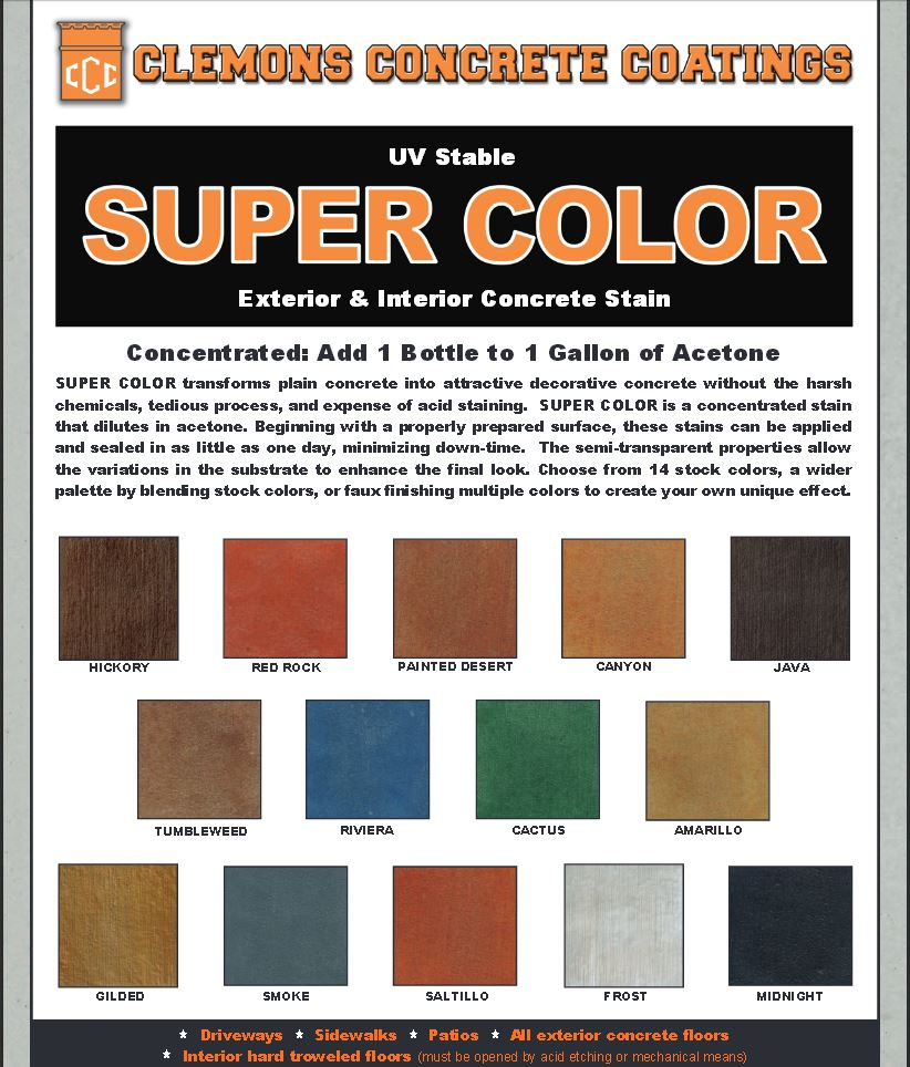 Clemons Super Color