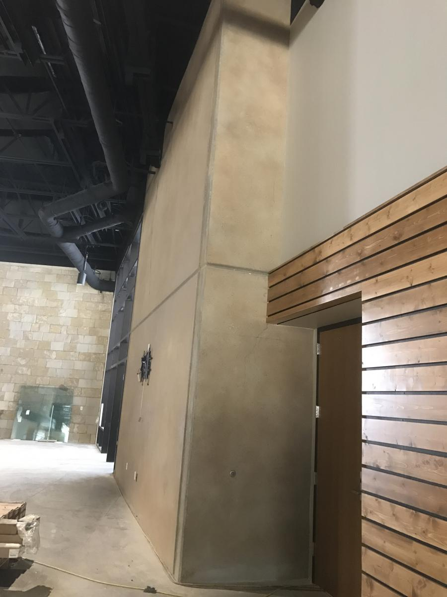 Stained Concrete Can Be Applied To Both Interior As Well As Exterior Tilt  Wall Construction For A Long Lasting And Durable Finish.