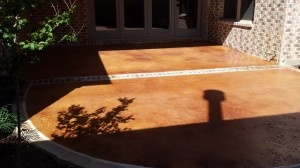 Stained-Patio-with-brickwork